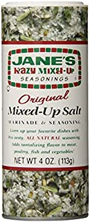 Jane's Krazy Mixed Up Salt, 4-Ounce Unit (Pack of 12) by Jane's Krazy