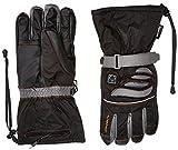 Alpenheat Fire-Glove Beheizter Ski Snowboard oder Motorradhandschuh, Schwarz, XS, AG2