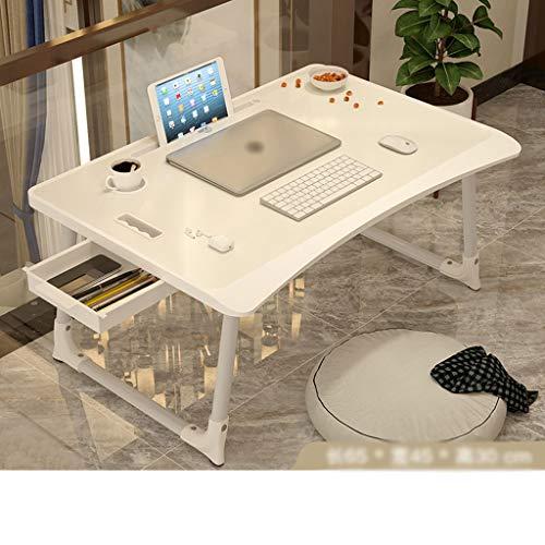Mesa Ordenador Portatil Mesa de picnic a casa El trabajo portátil de escritorio del ordenador portátil plegable Mesa de comedor multifuncional Escritorio Escritorio del Regazo ( Color : C )