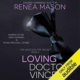Loving Doctor Vincent audiobook cover art