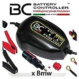 BC Battery Controller BC K900 EDGE, Cargador de baterías y Mantenedor Inteligente para Motos BMW con sistema CAN-Bus, y para todas las baterías 6V/12V de Plomo-Ácido, 1 Amp