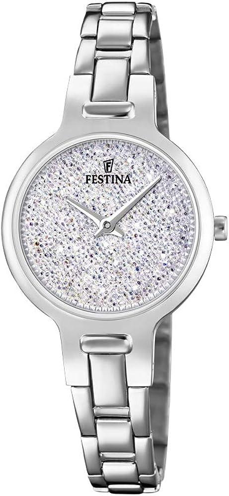 Festina orologio analogico da donna in acciaio inossidabile F20379/1