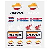 HONDA Repsol Moto GP Team Pegatina Set Oficial 2018