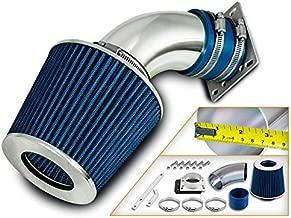 Filter For 98-01 Ranger//B2500 2.5L L4 BLUE Short Ram Air Intake Induction Kit
