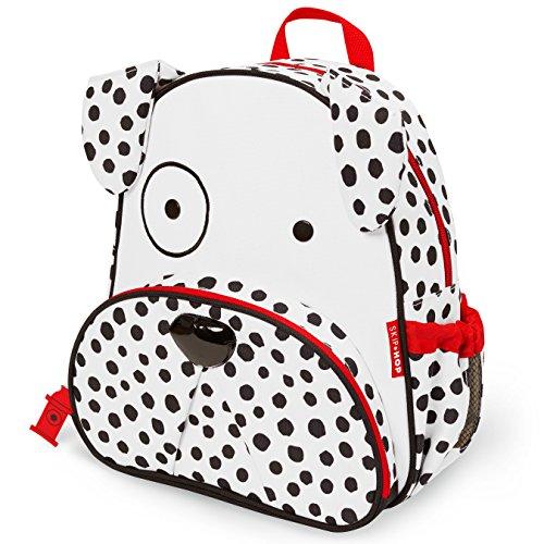 Skip Hop Toddler Backpack, 12' Dalmatian School Bag, Multi