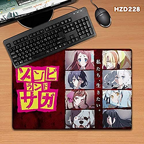 Japanse Anime Zombie Land Saga Extra Grote Gaming Mouse Pad Mat Toetsenbord Bureau Speel Mat