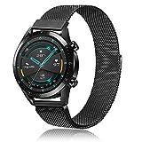 Wanme Cinturino di ricambio per Huawei Watch GT/GT 2 46 mm, a sgancio rapido in metallo per Huawei Watch GT/GT 2e/GT 2 Smart Watch/Samsung Galaxy Watch 46 mm/Gear S3 (multicolore)