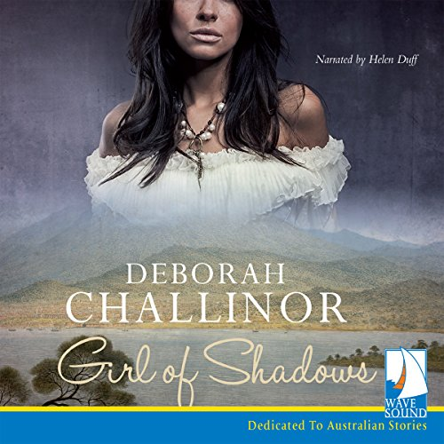 Girl of Shadows audiobook cover art