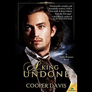 A King Undone audiobook cover art
