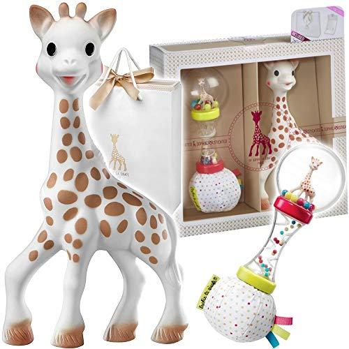 Sophie la girafe 000009 - Mi primer set sophie la girafe + sonajero maracas, unisex
