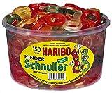 HARIBO Kinderschnuller, Dose, 2er Pack (2 x 1200g)