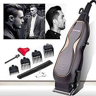 Haircut Hair Clippers, Professional Mute Ultra Power Electric Hair Trimmer Barber Men Hair Cutting Machine with Cord 220V Maintain your hairstyle