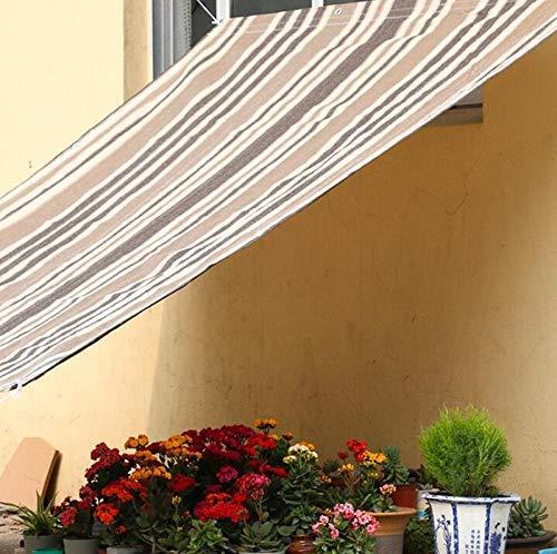 Gcxzb Lona Impermeable UPF40 + Vela Solar Plaza al Aire Libre Anti-UV de Verano Frescos de la Fiesta de Playa Casual Toldo Cuerda Jardín (Color: T1, Tamaño: 1.8x2.4m) (Color : T1, Size : 1.8x2.4m)