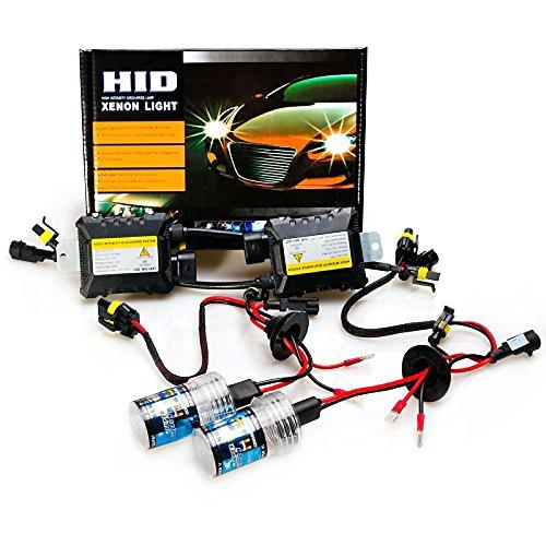 ZGMA H11 Automatique Ampoules électriques 55W 3200lm Xénon HID Lampe Frontale For Honda/Toyota Blue