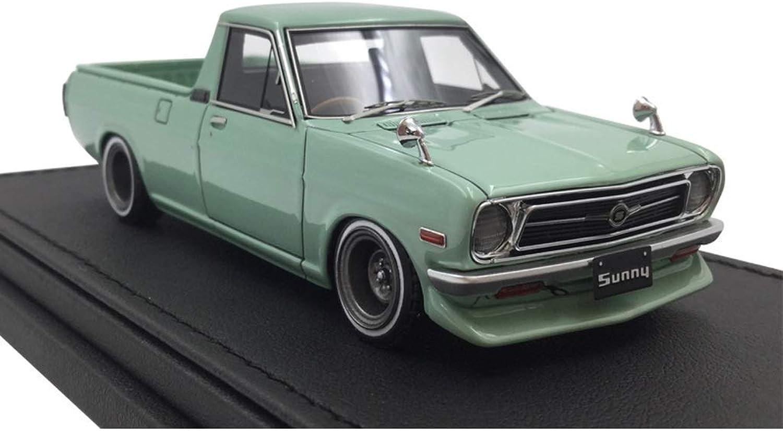 Maisto MoMo 1 43 Nissan Sunny Truck Long (B121) Kollektion Alloy Sliding Inertia Auto Modell Kinderspielzeug (Farbe   Grün) B07NRGK2H9 Schöne Farbe  | Kunde zuerst