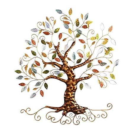 Tree Of Life Metal Tree Wall Sculpture Gold Tree Home Decor Everything Else