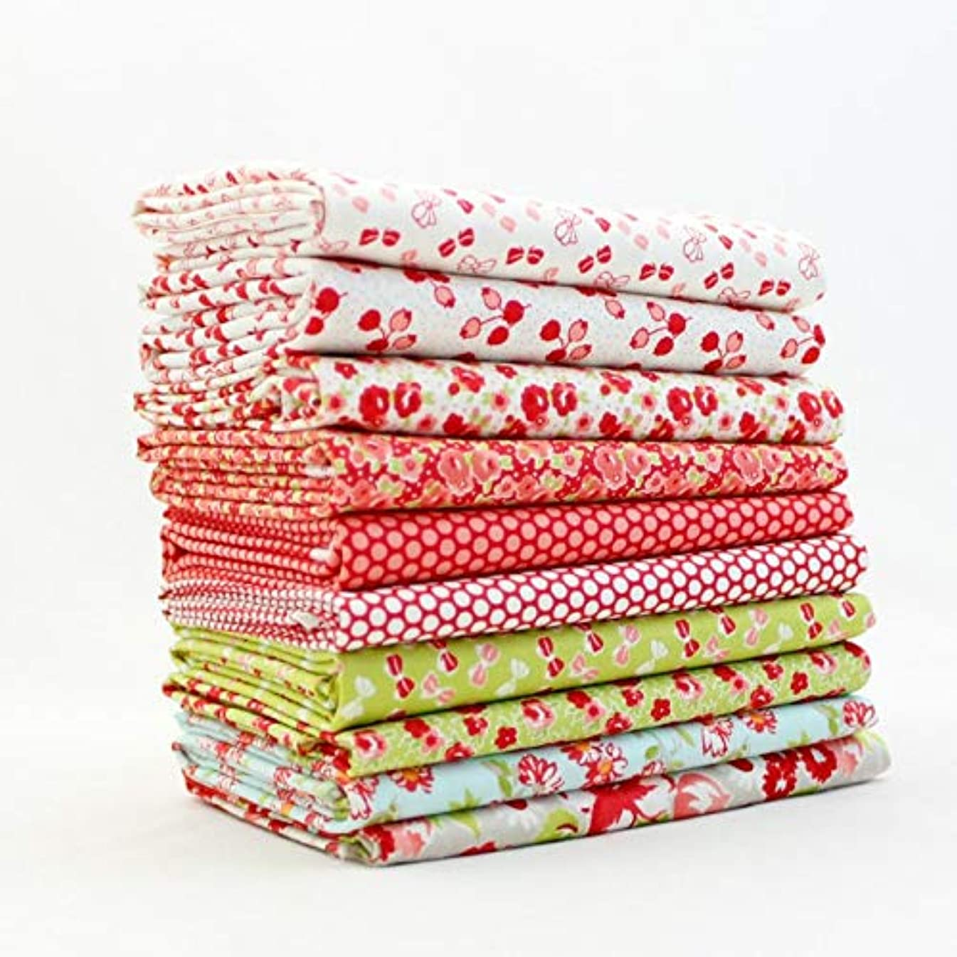 Little Ruby Fat Quarter Bundle (BC.LR.10FQ.C) by Bonnie and Camille for Moda