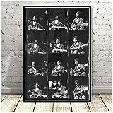 LLSDSD Miles Davis Poster Art von Blue Jazz Musikalbum