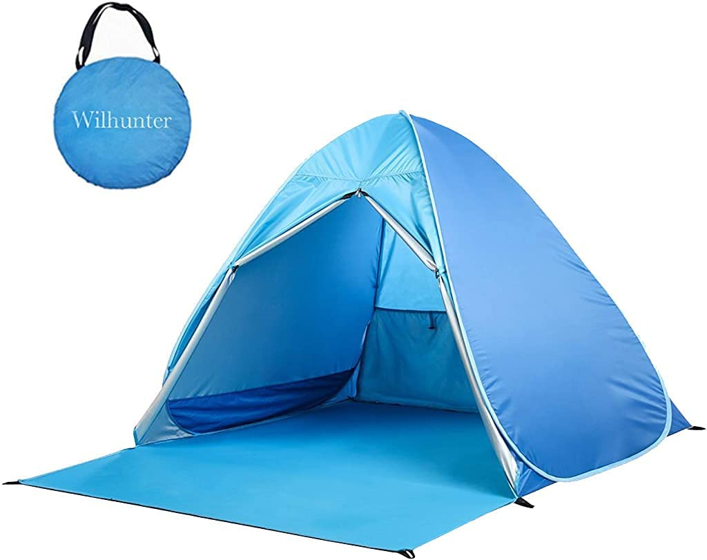 Pop Fresno Mall Up Beach Tent Easy Portable Protection Sun UV Max 47% OFF Sport Shelter