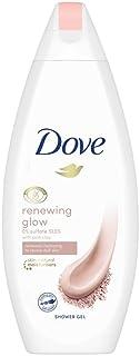 Dove Renewing Glow Pink Clay Body Wash, 250 ml