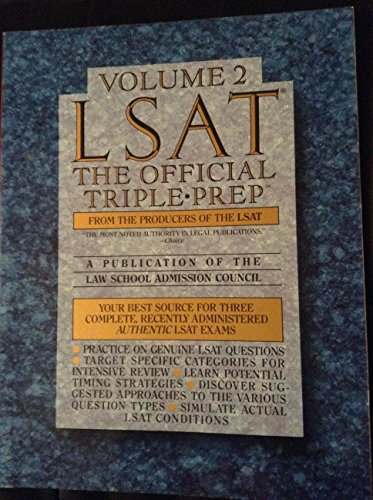 LSAT: Triple Prep 2