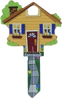 Key Shapes Decorative House Key