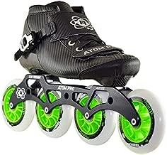 ATOM Pro Outdoor Inline Speed Skate 4 Wheel Package Matrix Wheels - 12.8 4x100 Frame - Size 11