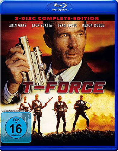 T-Force - Complete-Edition (Blu-Ray + DVD) ] [Limited Edition]