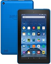 """Fire Tablet with Alexa, 7"""" Display, 8 GB, Blue - with Special Offers (Previous Generation - 5th)"""