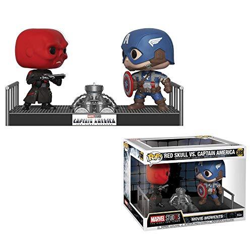 Funko POP!: Marvel: Capitán América contra Cráneo Rojo