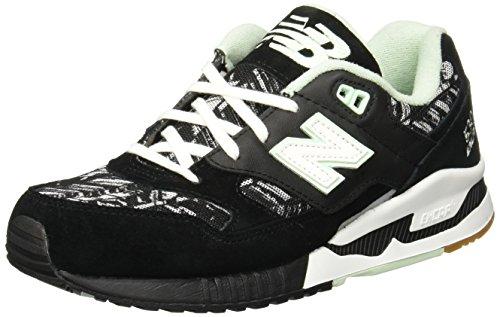 New Balance 530 Summer Utility Athletic Womens Shoes Size 11 Black/White