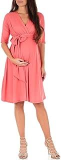 Best coral maternity bridesmaid dress Reviews