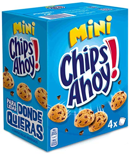 Chips Ahoy! Minis, Miniwafeltjes met chocoladestukjes, 160 g, 4-pack