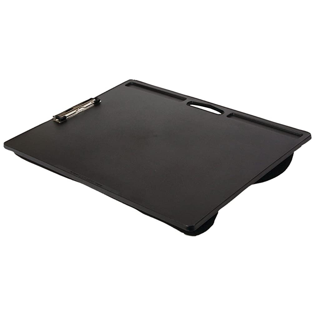 LAPGEAR 45104 Jumbo Student LapDesk with Clip (Black) Computers, Electronics, Office Supplies, Computing