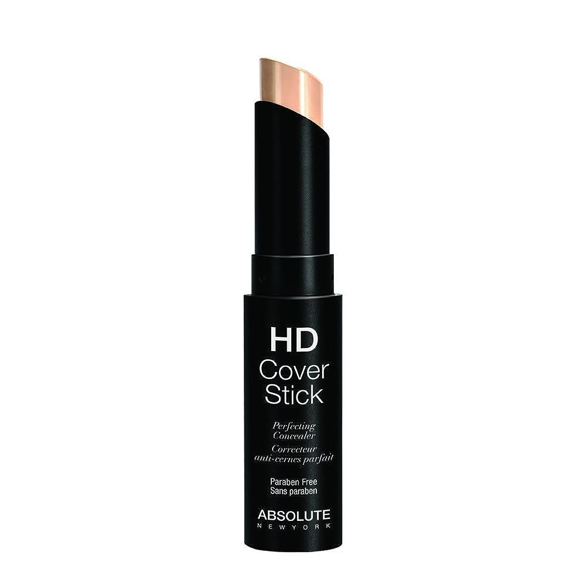 花束刺激する毒(3 Pack) ABSOLUTE HD Cover Stick - Vanilla (並行輸入品)