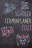 Schüler Terminplaner 2021: Schülertimer von November 20 bis März 22. Organisiert durchs neue Schuljahr mit diesem Schülerkalender, Schülerplaner. ... und Platz für Notizen und Hausaufgaben.