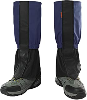 BMHNOONE Leg Gaiters for Men and Women, Adjustable and Waterproof Snow Boot Gaiters(Shaft Height 17.3