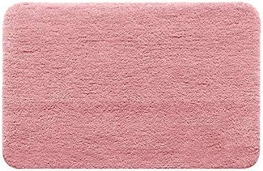 Household Bag pad Leiwenkai Absorbent Non-Slip Bath Mats Door Mats Carpet Floor Mats Home (Color : Champagne, Size : 40x60cm)