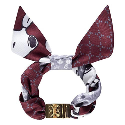 Codello Lifestyle Accessories CODELLO X Peanuts Snoopy Allover Bracelet Brazalete Inteligente, Rojo, 2x16 cm Unisex Adulto
