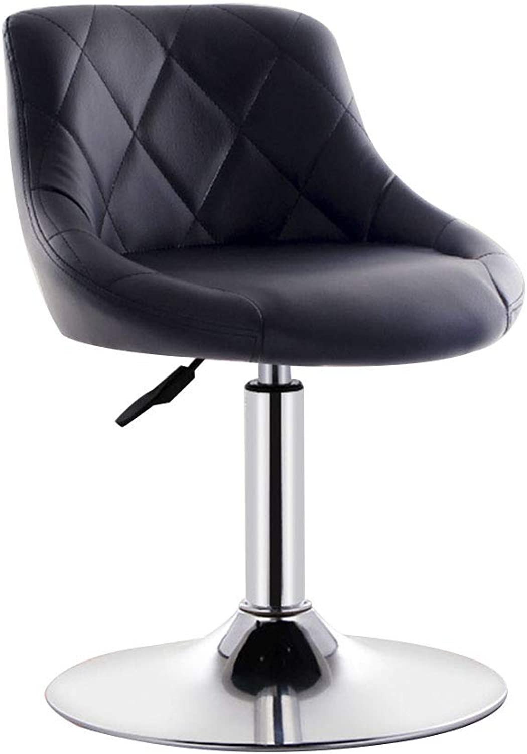 Bseack Swivel Chair Chair, Raise The Backrest Chassis Widening Lifting Swivel Chair Fit The Body Curve Leisure bar Chair Multiple Colour (color   A)