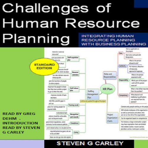Challenges of Human Resource Planning audiobook cover art