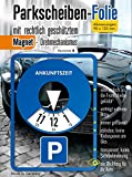 [page_title]-Andre Kulakowski Parkscheibe Aufkleber Variante B Folie Sticker Etikett selbstklebend.