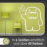 Domo Shocker Wandtattoo in 6 Größen - Wandaufkleber Wall Sticker