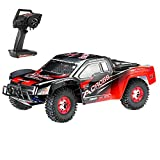 Goolsky WLtoys 12423 RC Car, 1/12 Scale 2.4GHz Remote Control Car, 4WD Electric Brushed Short Course RTR RC Truck