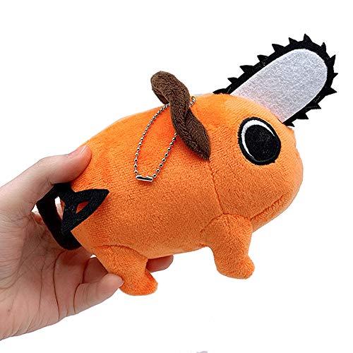 8' Chainsaw Man Pochita Plush Toy Pochita Denji Cosplay Plush Pedant Keychains Pendant Cute Car Keychains for Pencil Cases Bags Keys and School Bag 1