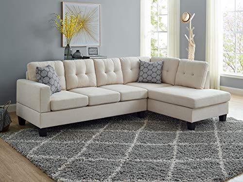 Oadeer Home, us_furniture, OADEF Sofa & Chaise, Beige