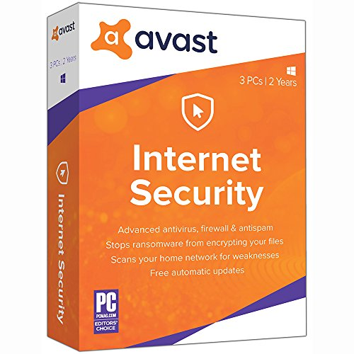 Avast Internet Security 2018, 3 PC 2 Year