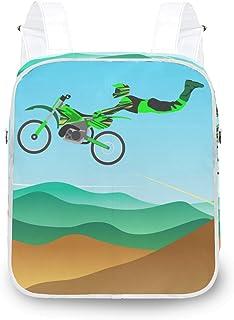 LUPINZ Jumping Style Motocross - Mochila de hombro resistente