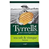 Tyrrell's Furrows Sea Salt & Vinegar 150g