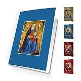 Felicitaciones Navidad Unicef XR16062178 - Pack de 10 tarjetas Madonas